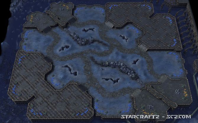 Cambio de mapas en Temporada 3 de StarCraft 2