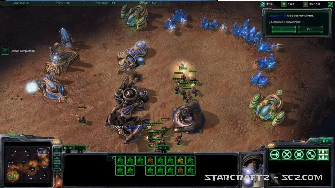 Terran vs Protoss