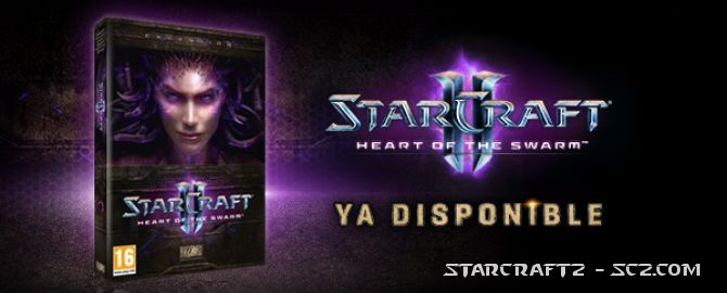 Heart of the Swarm ya disponible