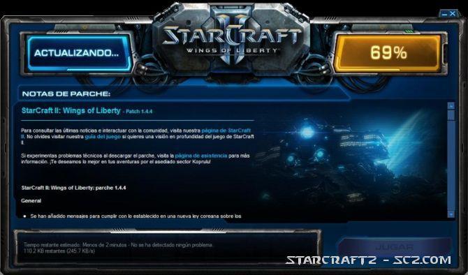 Parche 1.4.4 de StarCraft 2
