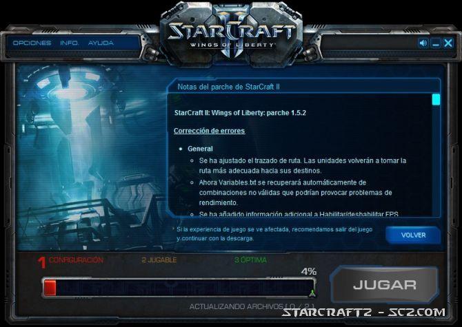Parche 1.5.2 de StarCraft 2