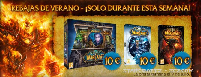 World of Warcraft: A precio rebajado