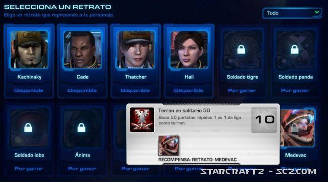 Cambiar Avatar en StarCraft 2