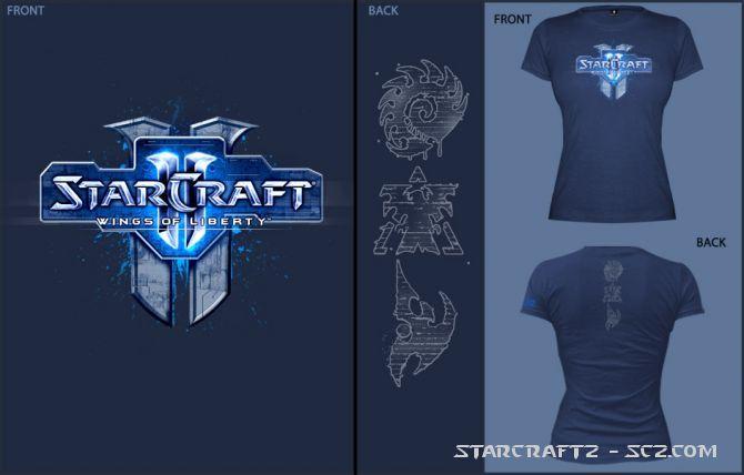 Ya puedes comprar tus camisetas de StarCraft 2