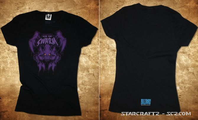 Heart of the Swarm también en camisetas