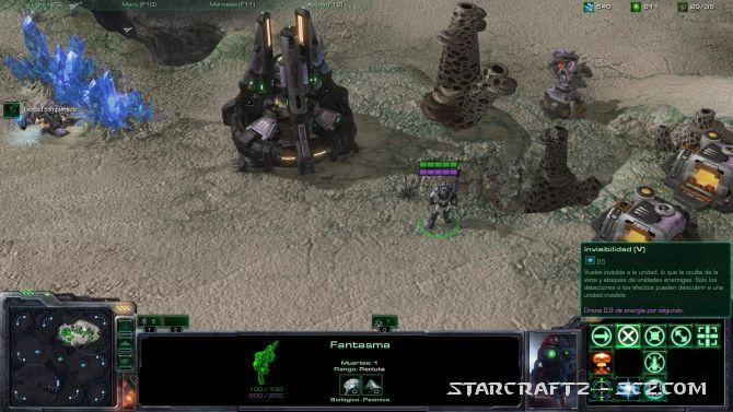 Cómo detectar unidades fantasmas con Terran
