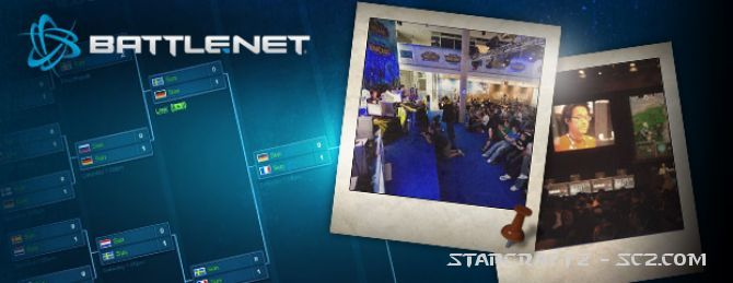 European Battle.net Invitational 2011: Programa