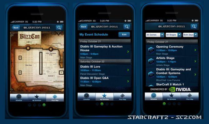Guía BlizzCon 2011 en tu móvil
