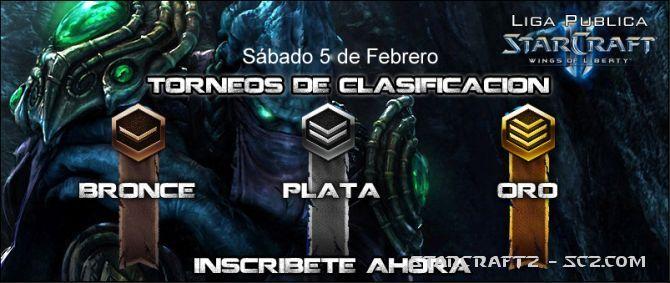 Liga Pública de Starcraft 2