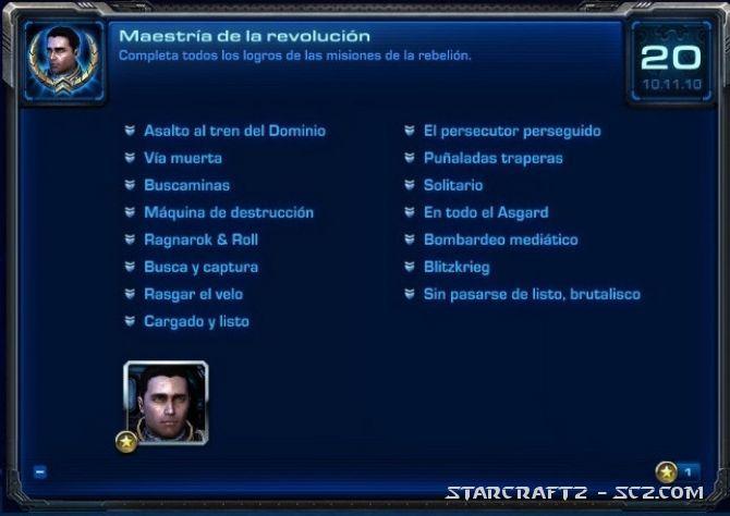 Logros de Misiones de la Revolución