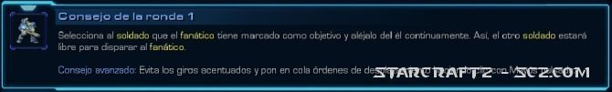 Maestro de StarCraft: Ronda 1