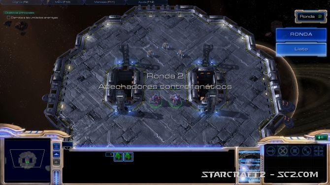 Maestro de StarCraft: Ronda 2