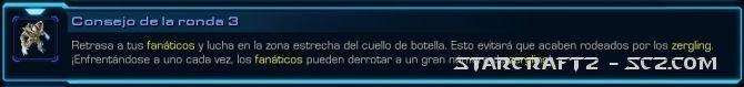 Maestro de StarCraft: Ronda 3