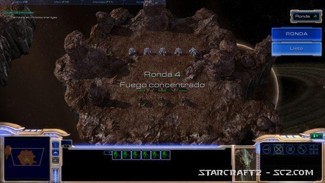 Maestro de StarCraft: Ronda 4