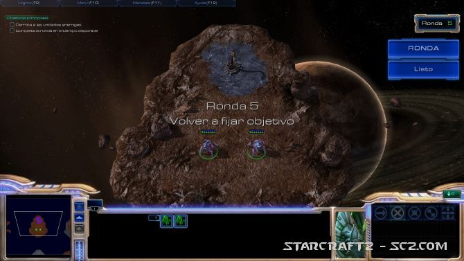 Maestro de StarCraft: Ronda 5