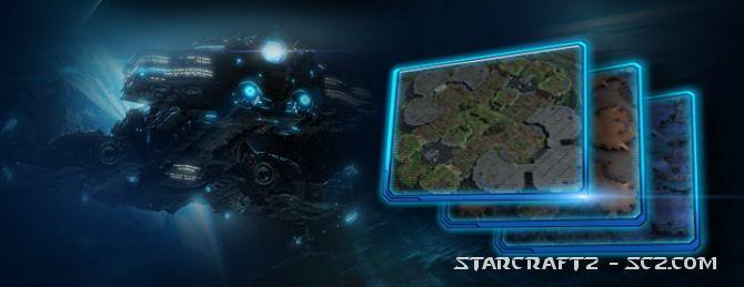 Cambios de mapas 1 vs 1 en la Temporada 4 de StarCraft 2