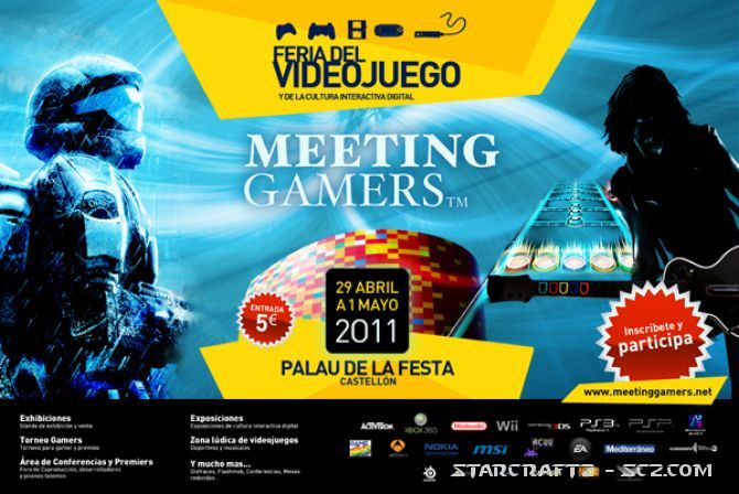 StarCraft 2 en Meeting Gamers 2011