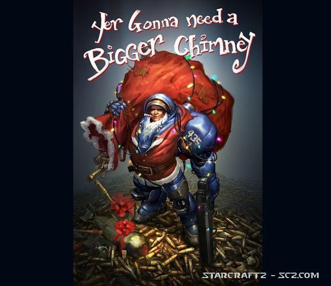 StarCraft 2 en Navidad