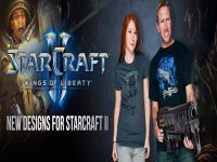 Nuevas Camisetas de StarCraft II: Wings of Liberty