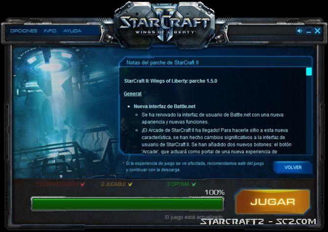 Parche 1.5.0 de StarCraft 2