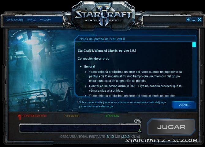 Parche 1.5.1 de StarCraft 2