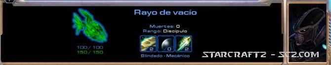 Rayo de Vacío - Void Ray