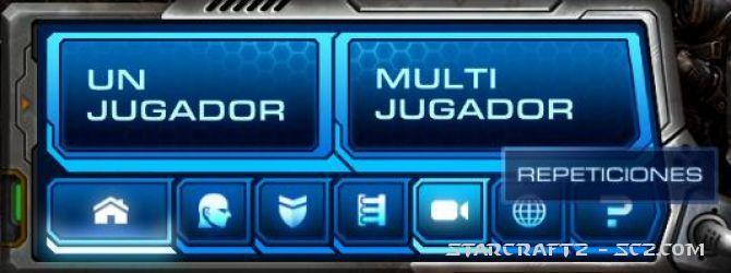 Repeticiones de jugadas en StarCraft 2