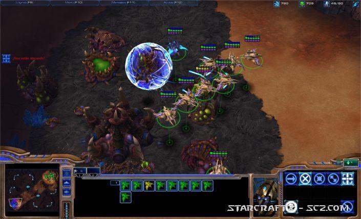 Rush Fénix (Phoenix Rush) en Starcraft 2