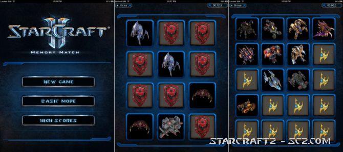 StarCraft 2: Memory Game