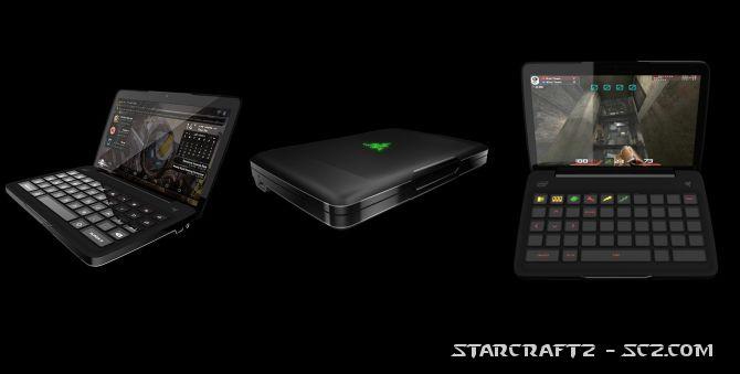 Razer Switchblade con StarCraft