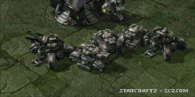 Tanque de Asedio - Siege Tank