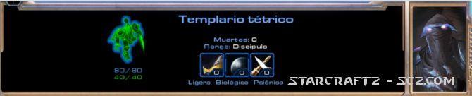Templario Tétrico - Dark Templar