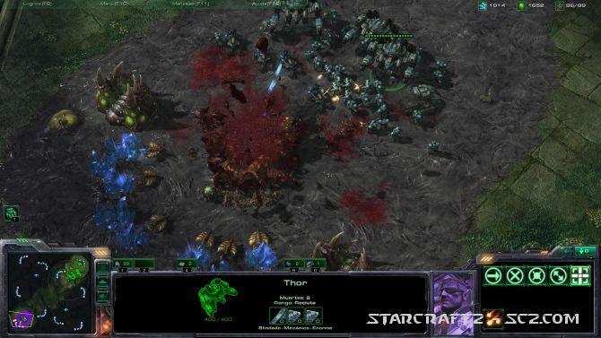 Terran vs Zerg