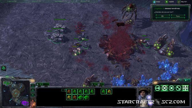 Táctica básica Terran contra Zergs