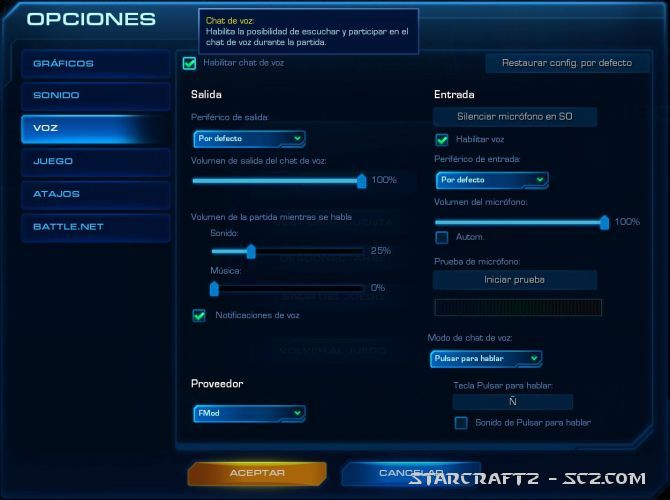 La Comunicación en StarCraft 2