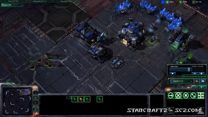 Táctica Terran contra Rush Zergling