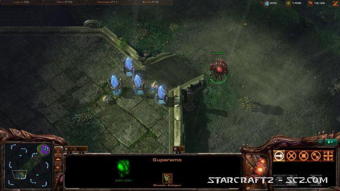 Táctica ofensiva Zerg contra Murallas Protoss